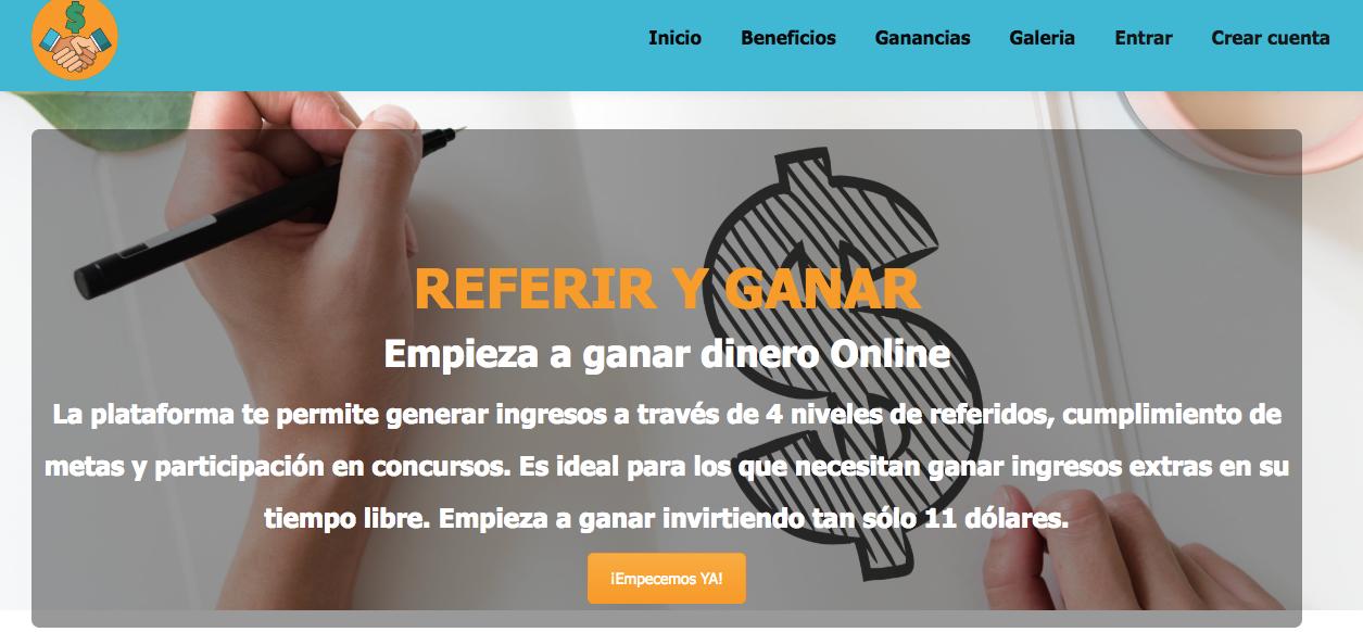 Blog gana-dinero-desde-casa-con-referiryganar.com