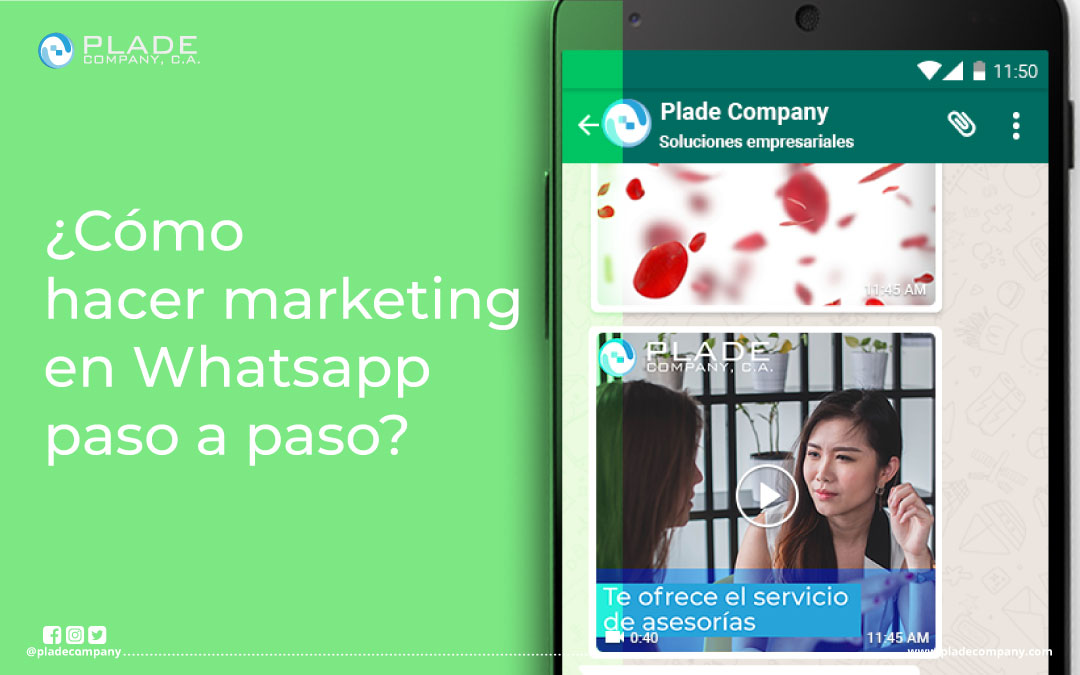 ¿CÓMO UTILIZAR WHATSAPP PARA MARKETING? PASO A PASO
