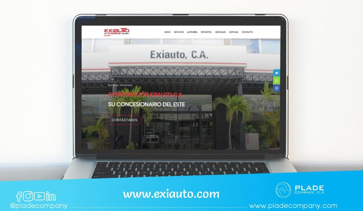 Portafolio aplicacion-web-exiauto