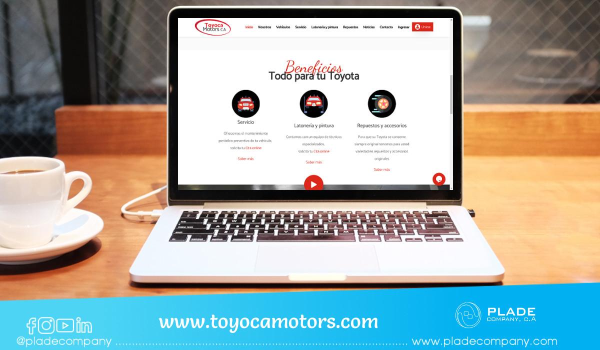 Aplicación Web Toyoca Motors