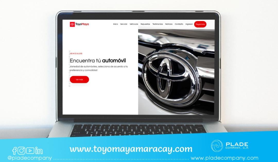 Aplicación Web ToyoMaya