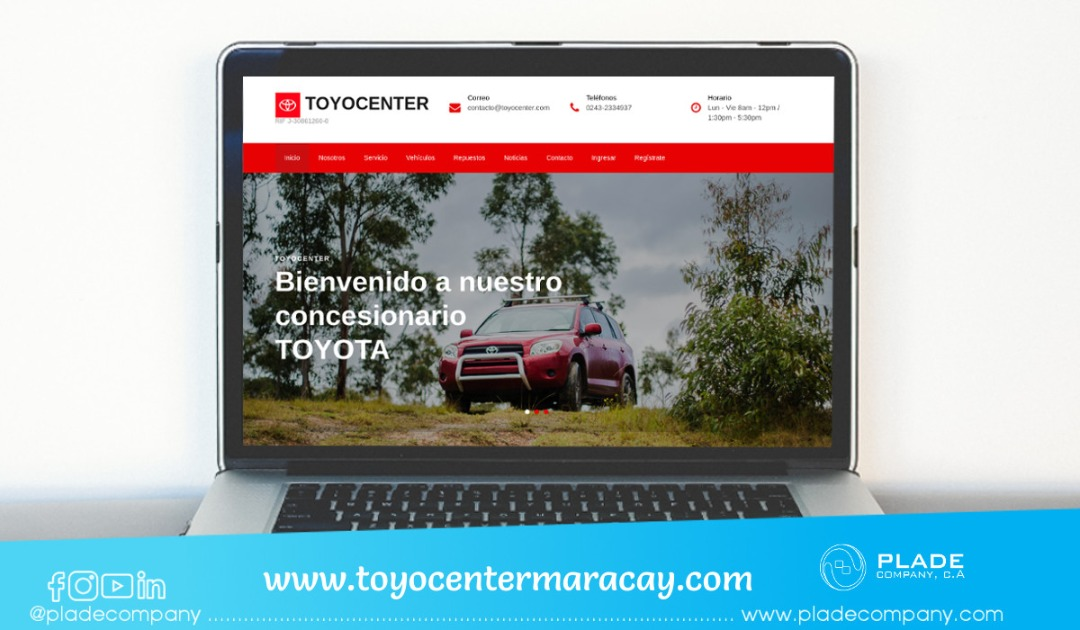 Blog aplicacion-web-toyocenter
