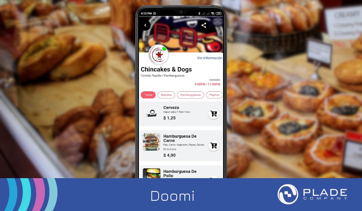 App Móvil Doomi